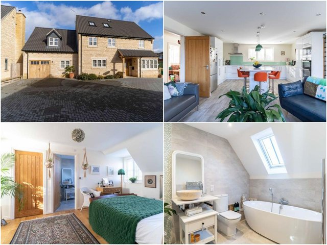 The property is on the market for a guide price of £685,000