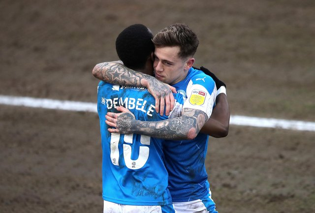 Peterborough United's predicted League One finish according to the data experts. (Photo by Alex Pantling/Getty Images)